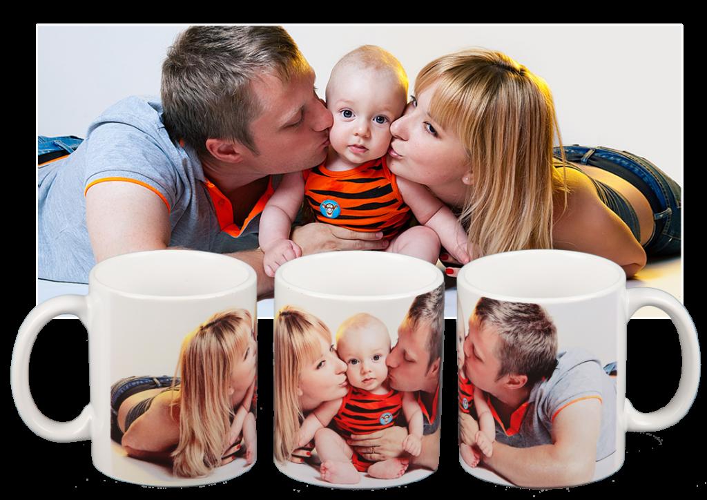 на кружке сделать фото семьи расскажу шести моделях